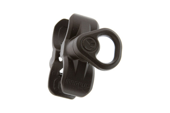 The Magpul forward sling mount allows you to attach a QD sling swivel to the barrel of your Mossberg 590A1 shotgun