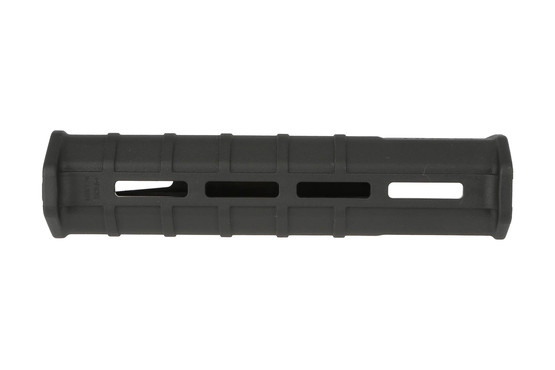 The remington 870 Magpul forend offers multiple M-LOK attachment slots for accessories