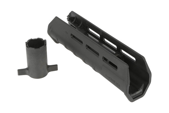 The Magpul remington 870 forend comes with an installation tool