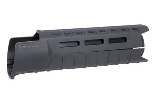 The Magpul MOE Slim Line handguard is designed for carbine length rifles and made from black polymer
