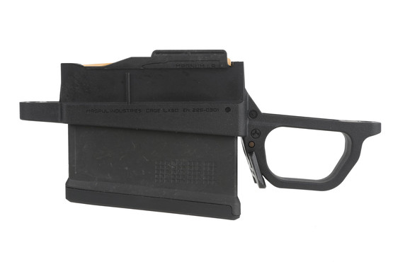 The Magpul 700L magazine well is compatible with AICS pattern magazines
