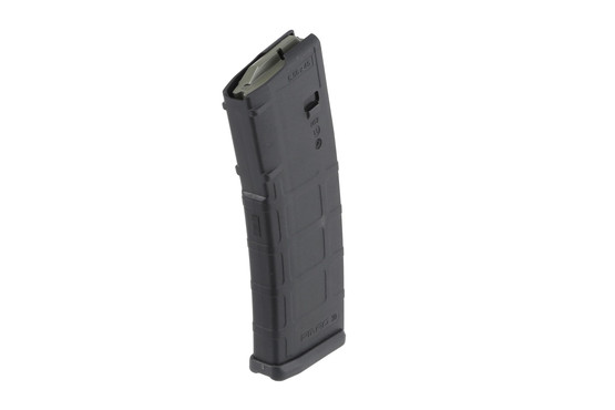 The PMAG30 AR Mag holds 30 rounds of 5.56 ammunition and is made from durable polymer