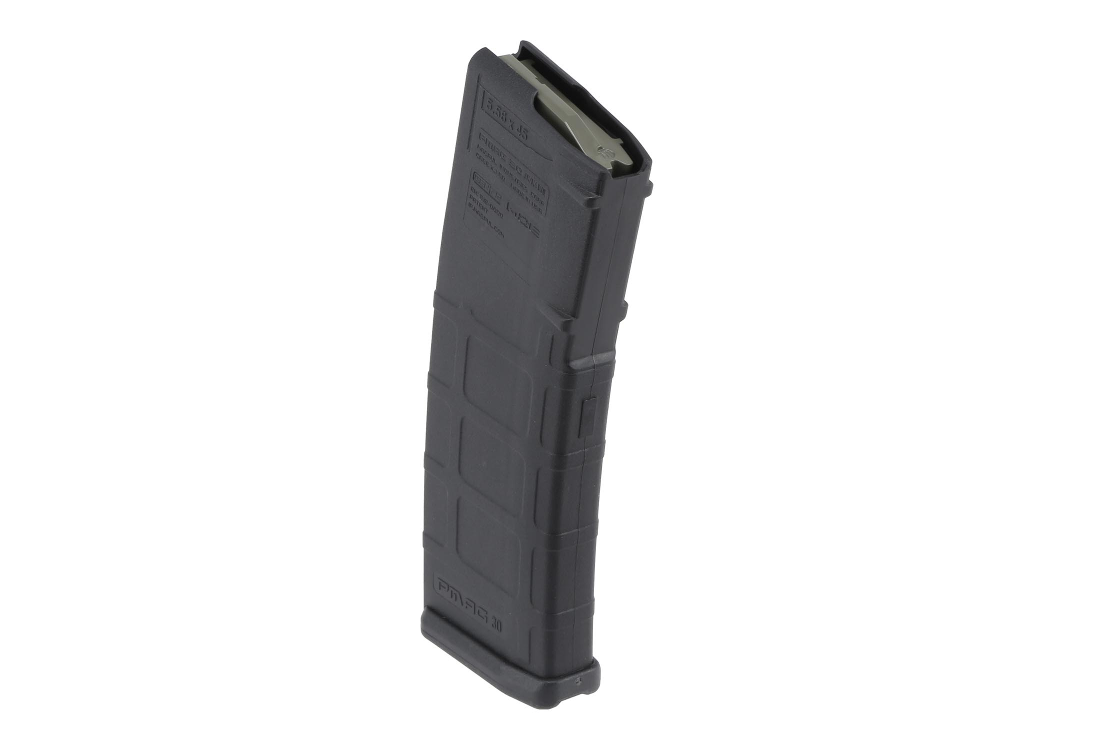 The PMAGs AR15 magazine features an anti-tilt follower with self lubricating properties for reliable function