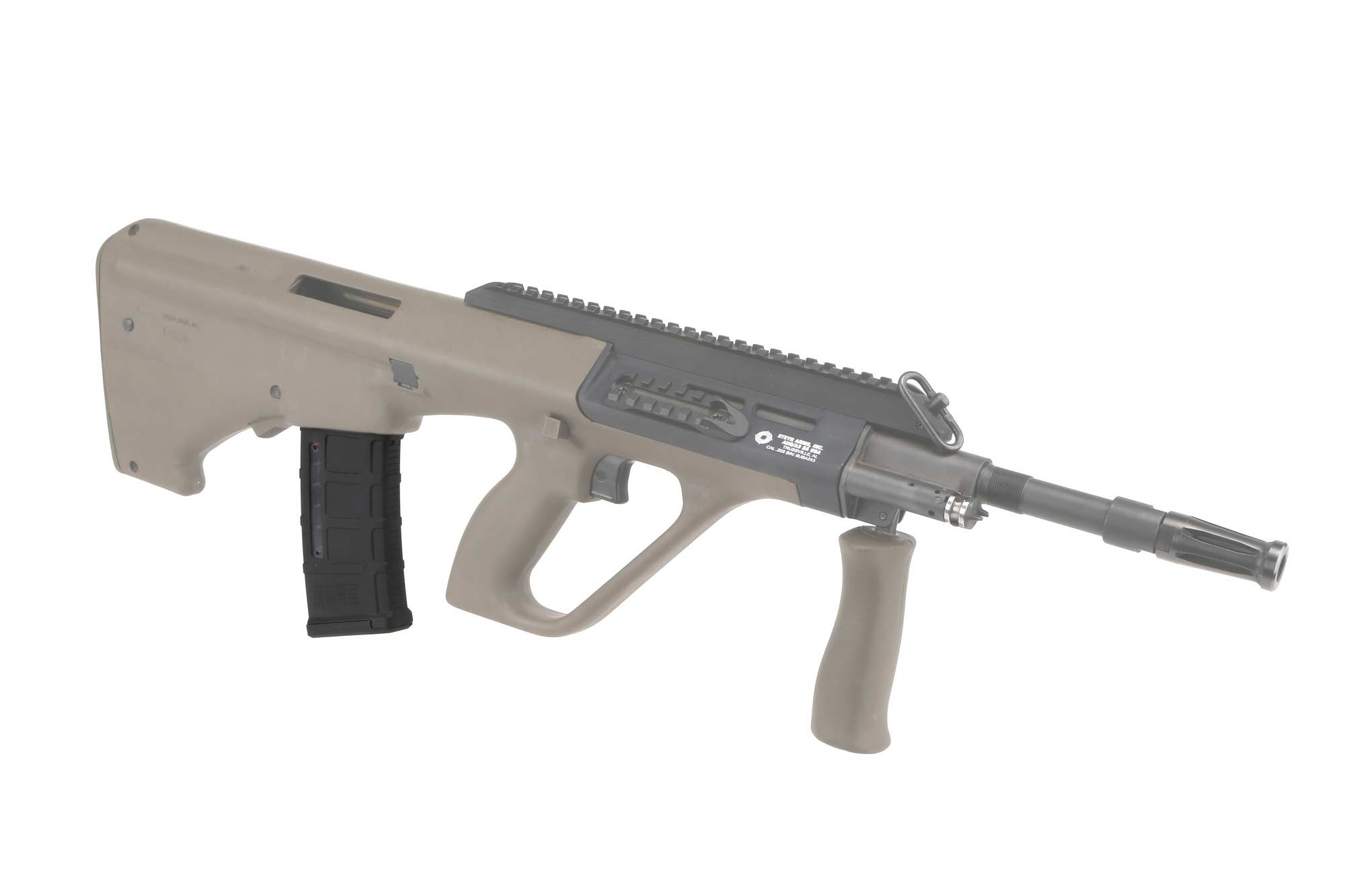 The Magpul Steyr AUG PMAG 30 AUS Gen M3 features a USGI Spec stainless steel follower spring
