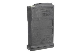 The Magpul PMAG 10 7.62 AC AICS short action magazine holds 10-rounds of 7.62x51 ammo