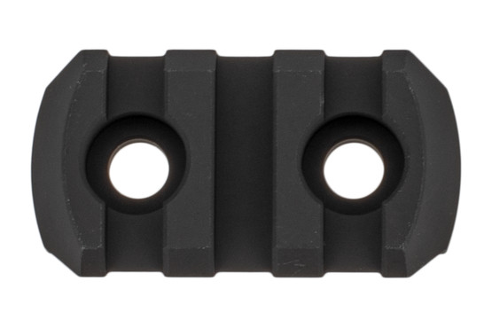 Magpul M-LOK compatible 3-slot picatinny rail sections are machined from aluminum and compatible with your favorite accessories