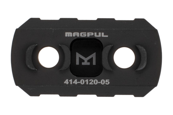 Magpul aluminum 3-slot picatinny rail section features a tough matte black finish and is compatible with your favorite M-LOK rails.