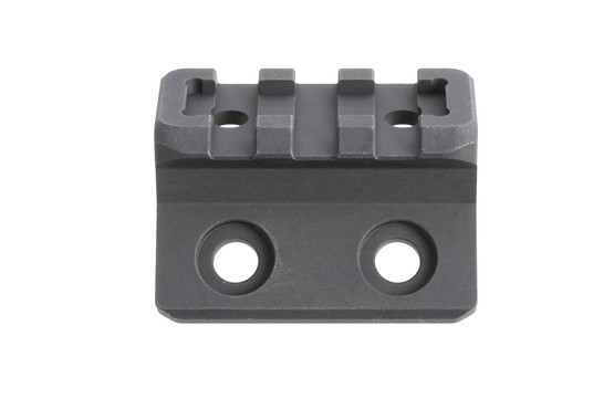 The Magpul M-LOK offset light mount is machined from aluminum with anodized finish