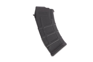 The Magpul AK PMAG 20 round AK-47 magazine holds 20 rounds of 7.62x39 ammunition