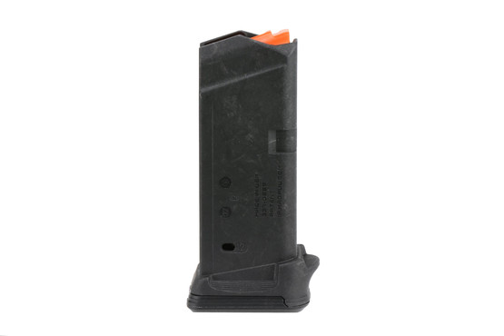 The Magpul Industries Glock 26 PMAG has a built in finger groove