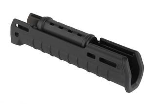 The Magpul Zhukov-U handguard features a black polymer design