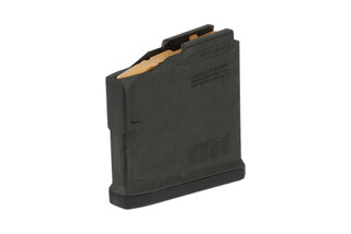 The Magpul AICS PMAG 5 AC L Magnum long action magazine is made from durable polymer