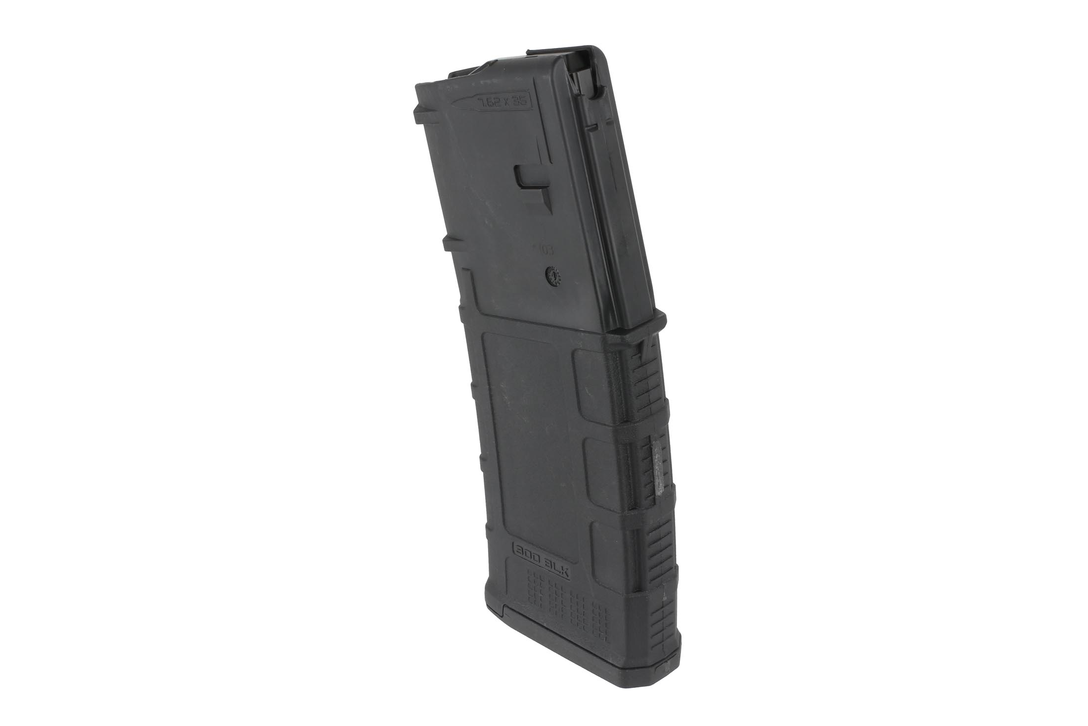 The Magpul 300 AAC Blackout pmag Magazine is a gen 3 ar300b model that holds 30 rounds of .300 blk ammunition for your rifle