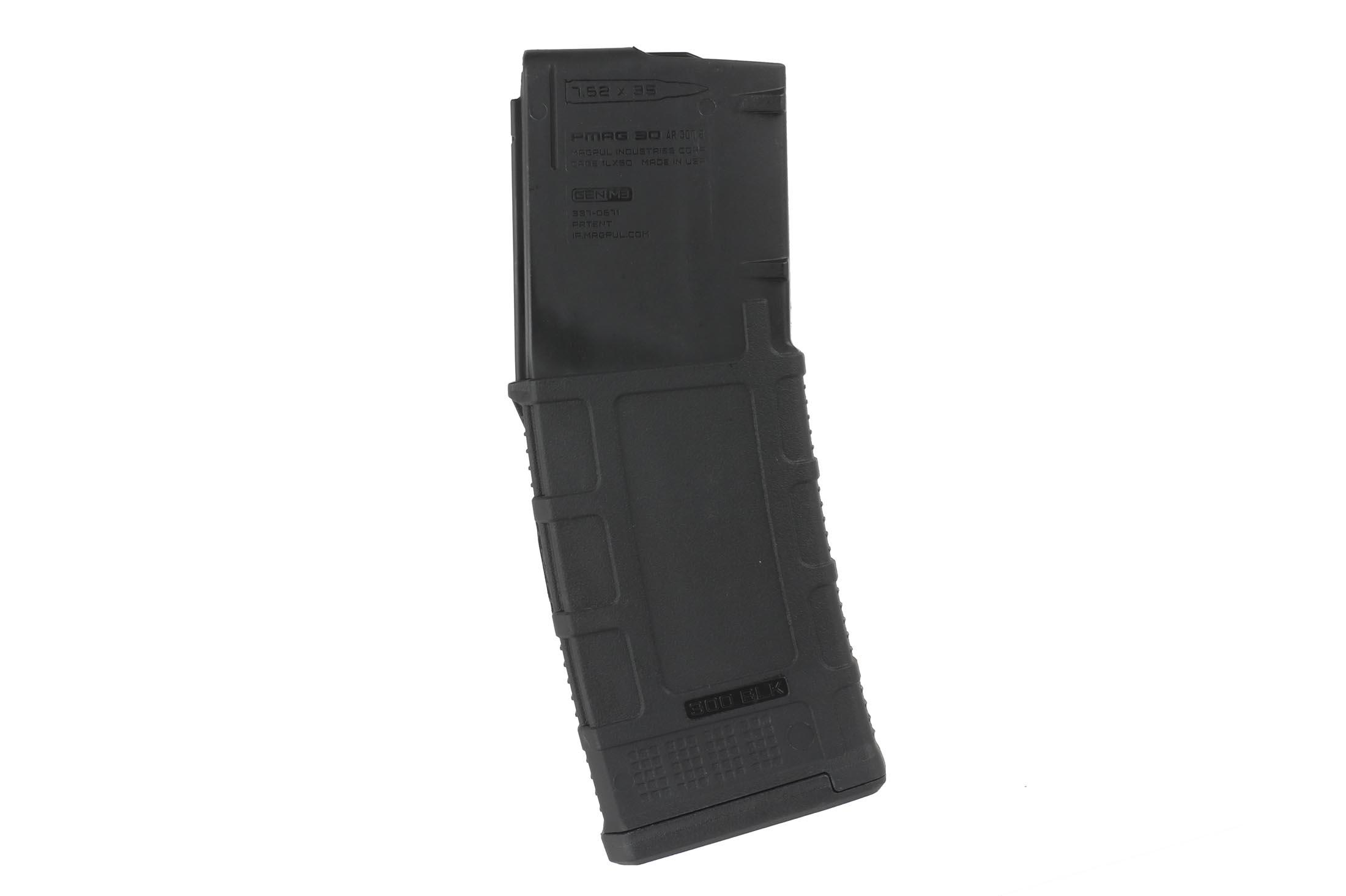The Magpul 300 AAC Blackout pmag Magazine is a gen 3 ar300b model that has a usgi-spec stainless steel follower for your ar15