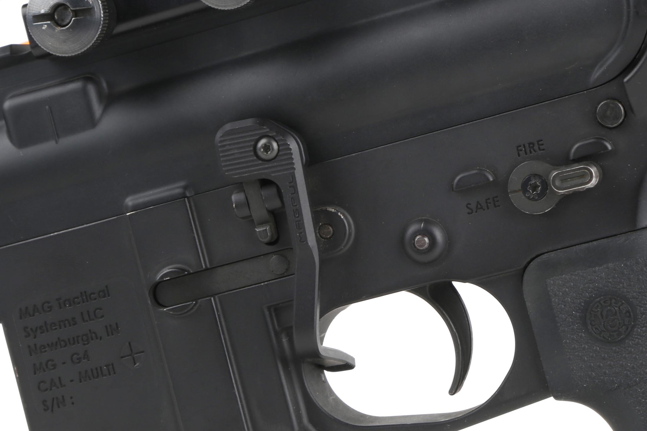 Magpul B.A.D. Lever - Battery Assist Device is designed to considerably improve the AR-15/M16 bolt catch.