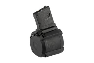 Magpul D50 PMAG 7.62x51mm NATO magazine is a lightweight, compact, and extremely reliable drum magazine