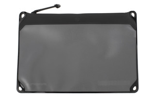 The Large Magpul DAKA Window Pouch is made from black polymer fabric and is extremely durable