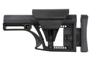 Luth AR MBA-1 Modular Buttstock Assembly for AR-15 or AR-10 is fully adjustable for length of pull and comb height