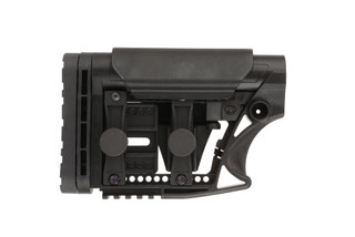The Luth-AR MBA-3 Carbine Buttstock Assembly for ar15 is made from glass reinforced polymer