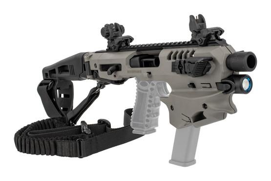 CAA Micro Advanced Conversion Kit Glock 20/21 Long Stabilizer - Tungsten  Gray