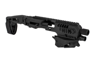 Command Arms Micro Conversion Kit for Glock 20/21 handguns includes a long stabilizer for enhanced comfort and accuracy