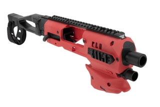 Command Arms glock 43 conversion kit in red