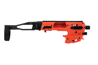 CAA micro polymer 80 conversion kit comes in orange