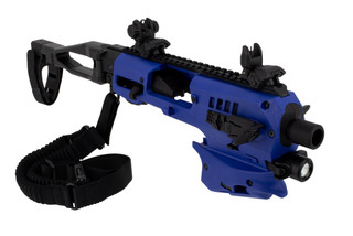 command arms polymer 80 conversion kit comes in blue