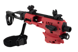 Command Arms polymer 80 conversion kit comes in red