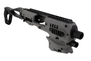 Command Arms polymer 80 kit comes in tungsten grey