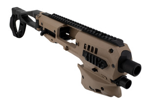 Command Arms polymer 80 micro conversion kit comes in flat dark earth