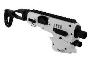 Command Arms polymer 80 conversion kit comes in white