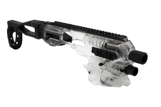 Command Arms XDM conversion kit in clear polymer