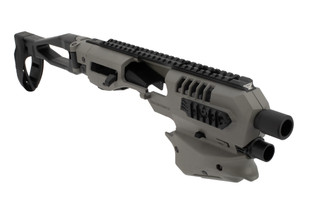 Command Arms Springfield XD Micro Conversion kit in tungsten grey