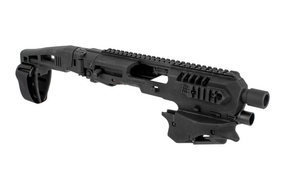 Command Arms Micro Conversion Kit for Smith & Wesson M&P handguns includes a long stabilizer for enhanced comfort and accuracy