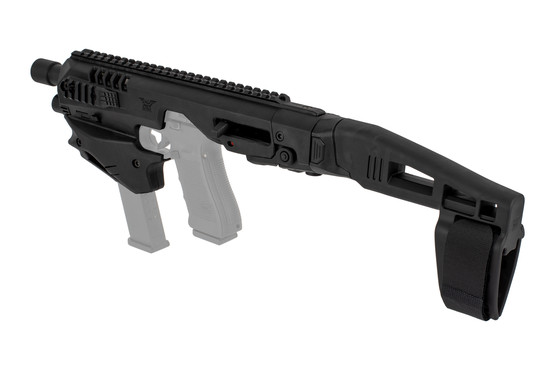 Command Arms Micro Conversion Kit with a stabilizer, ambidextrous controls, and improves accuracy out to 200 yards