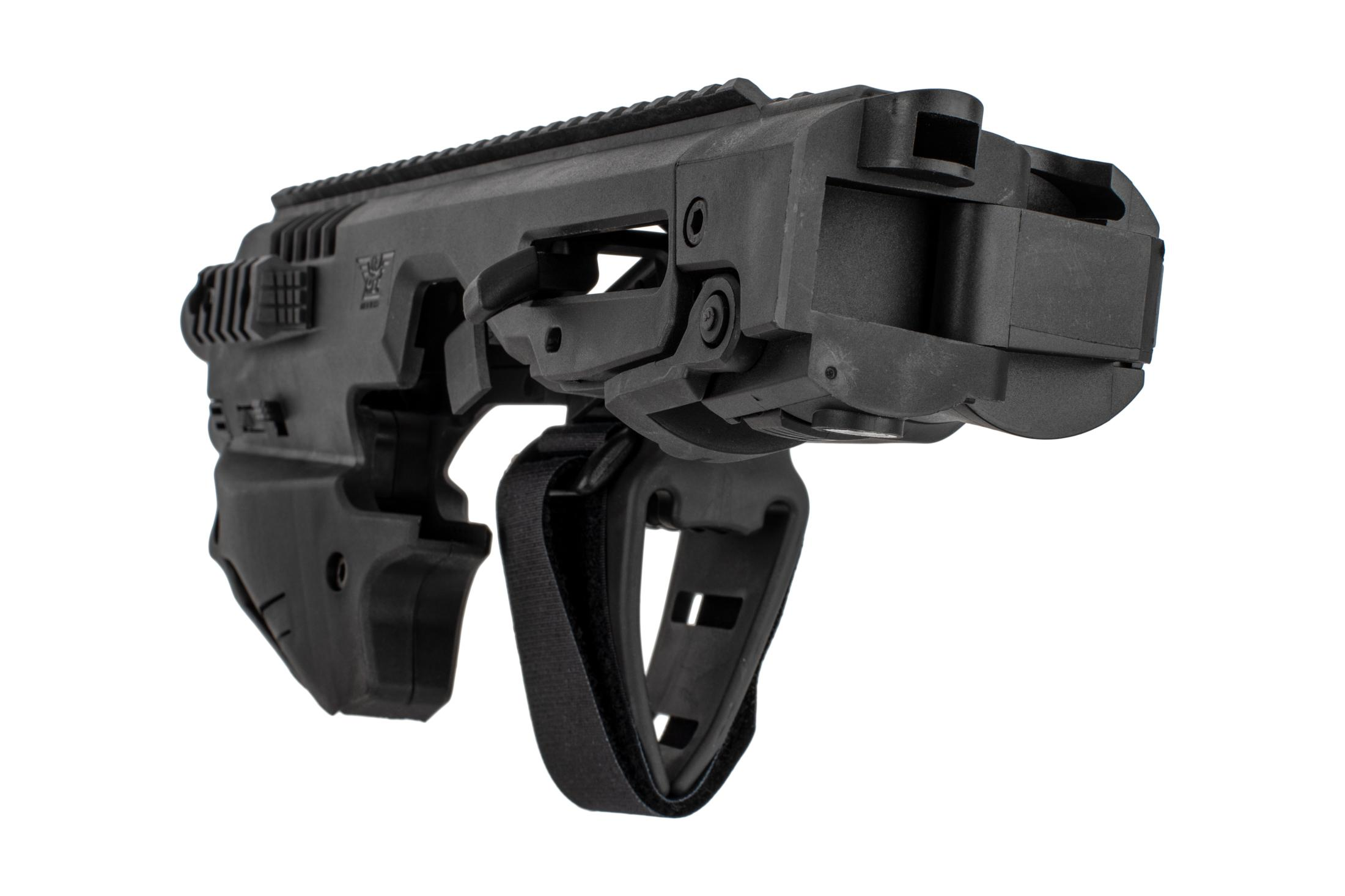 Command Arms Micro Conversion Kit for Glocks offers a side folding long stabilizer