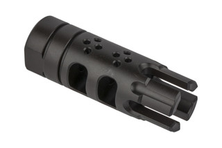 The SLR Rifleworks BCF 5.56 is a muzzle brake, compensator, and flash hider all in one