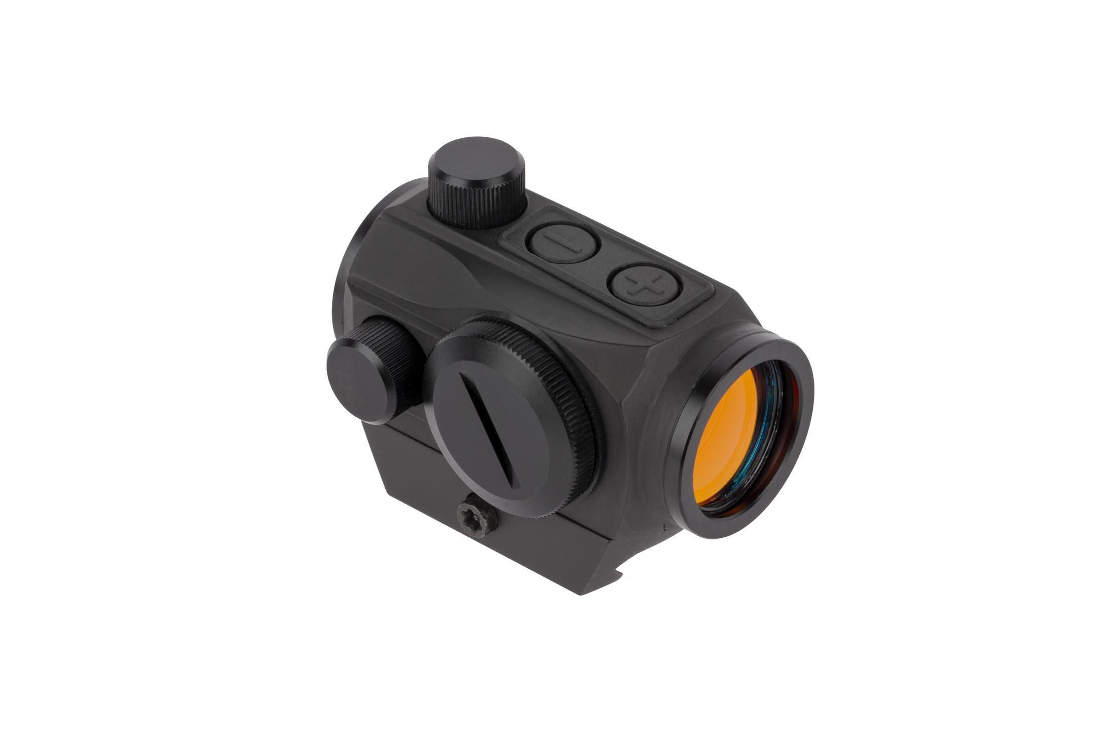 Primary Arms Advanced Micro Dot with push button controls features an impressive 50,000 hour battery life