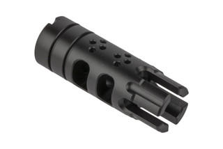 The SLR Rifleworks Synergy BCF is a .30 caliber muzzle device for AK47 rifles