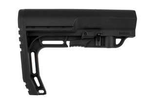 The buttstock from mission first tactical is a minimalist stock for the ar15 carbine buffer tube