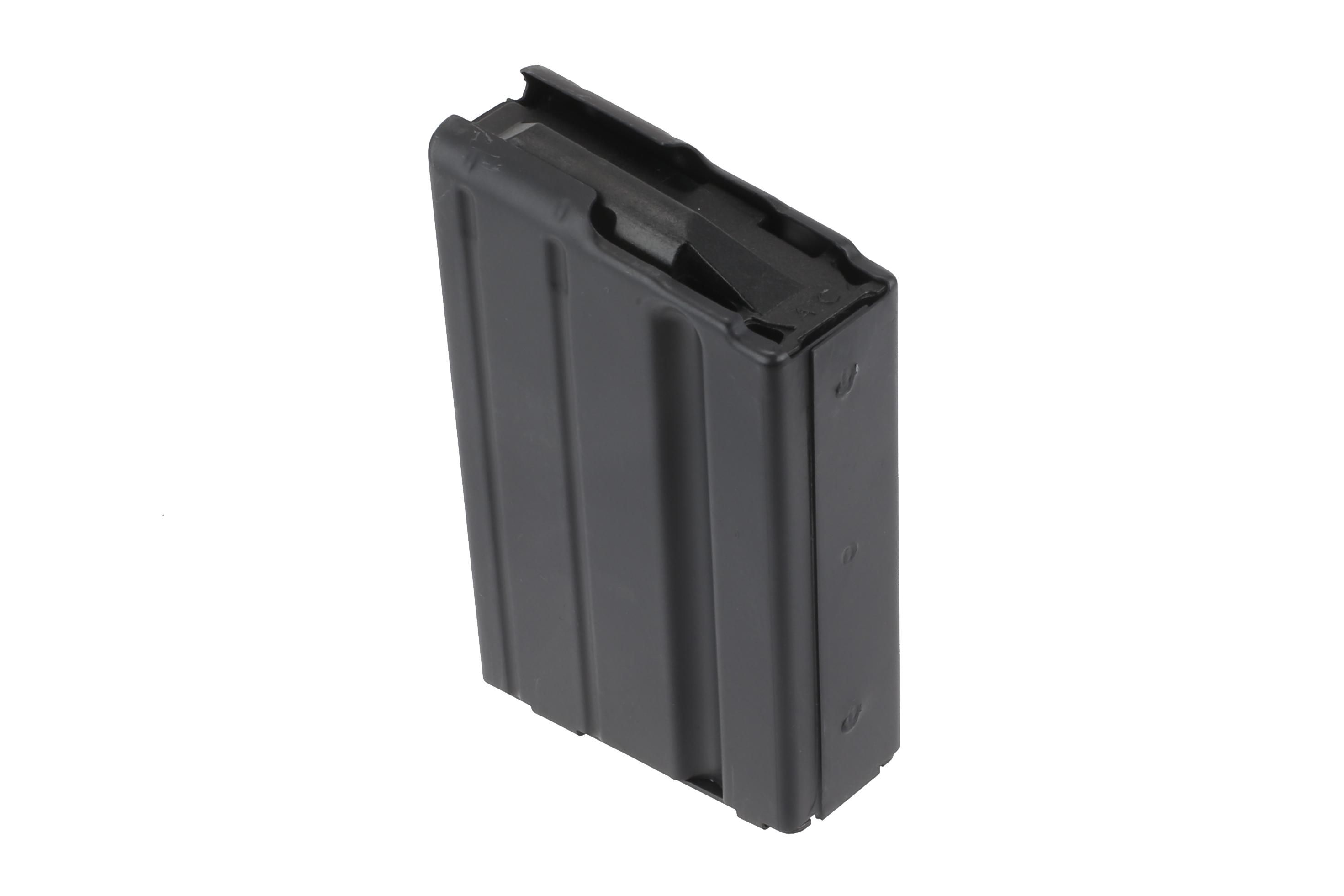 The 7.62 steel AR 15 Magazine from ASC features a 10 Round capacity and polymer follower