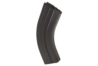 The Ammunition Storage Components 30 round 7.62x39 magazine is made from aluminum and features a black finish