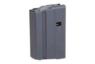 The Ammunition Storage Components 7.62x39 AR magazine holds 5 rounds of ammunition in the stainless steel construction