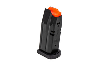 CZ USA 12-round 9mm magazine for the P10 S is a highly reliable full capacity magazine with tough steel body.