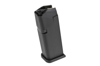 Glock 19 magazines come from the factory ready to hold 15 rounds of 9mm ammunition