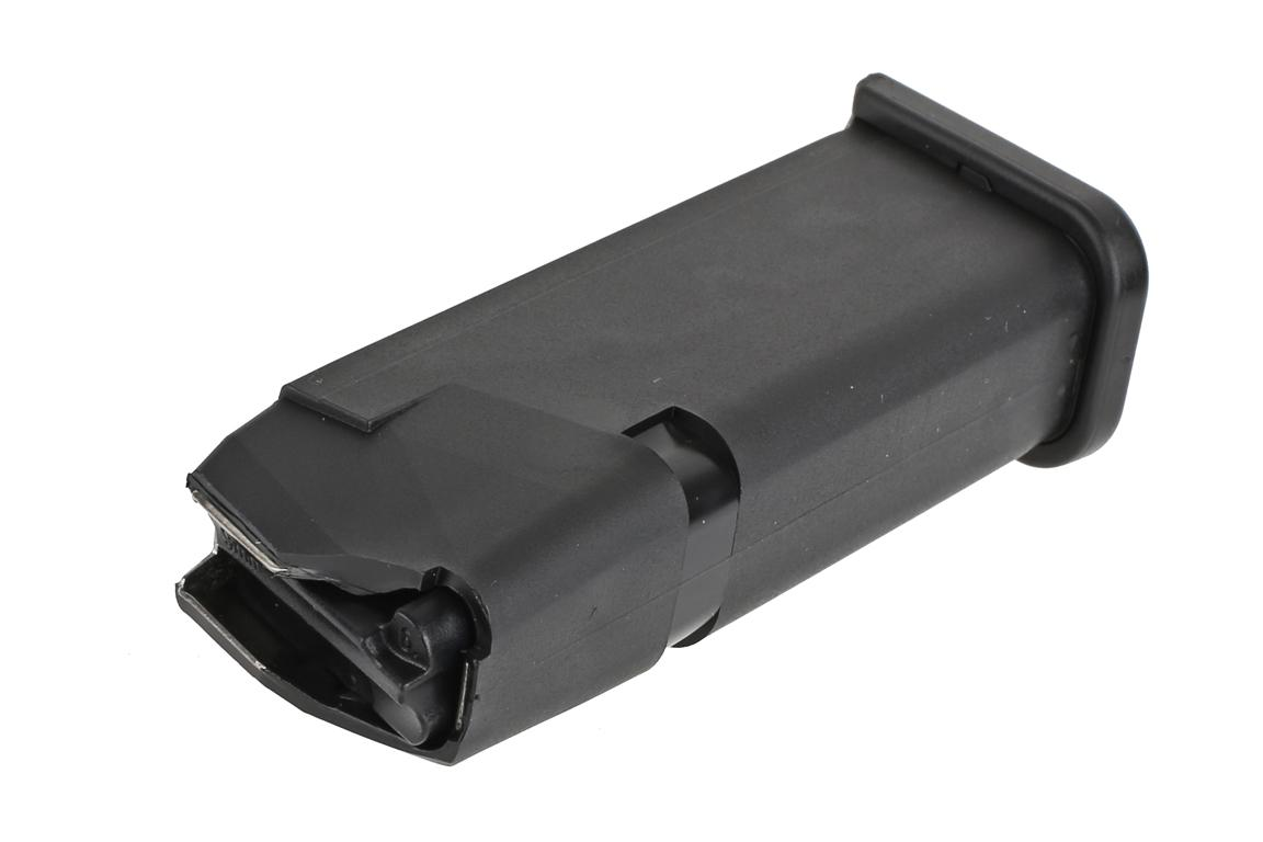 The Glock 19 15 round magazine features a reliable follower