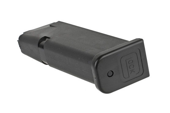 The Glock G19 magazine has a removable base plate for maintenance and cleaning