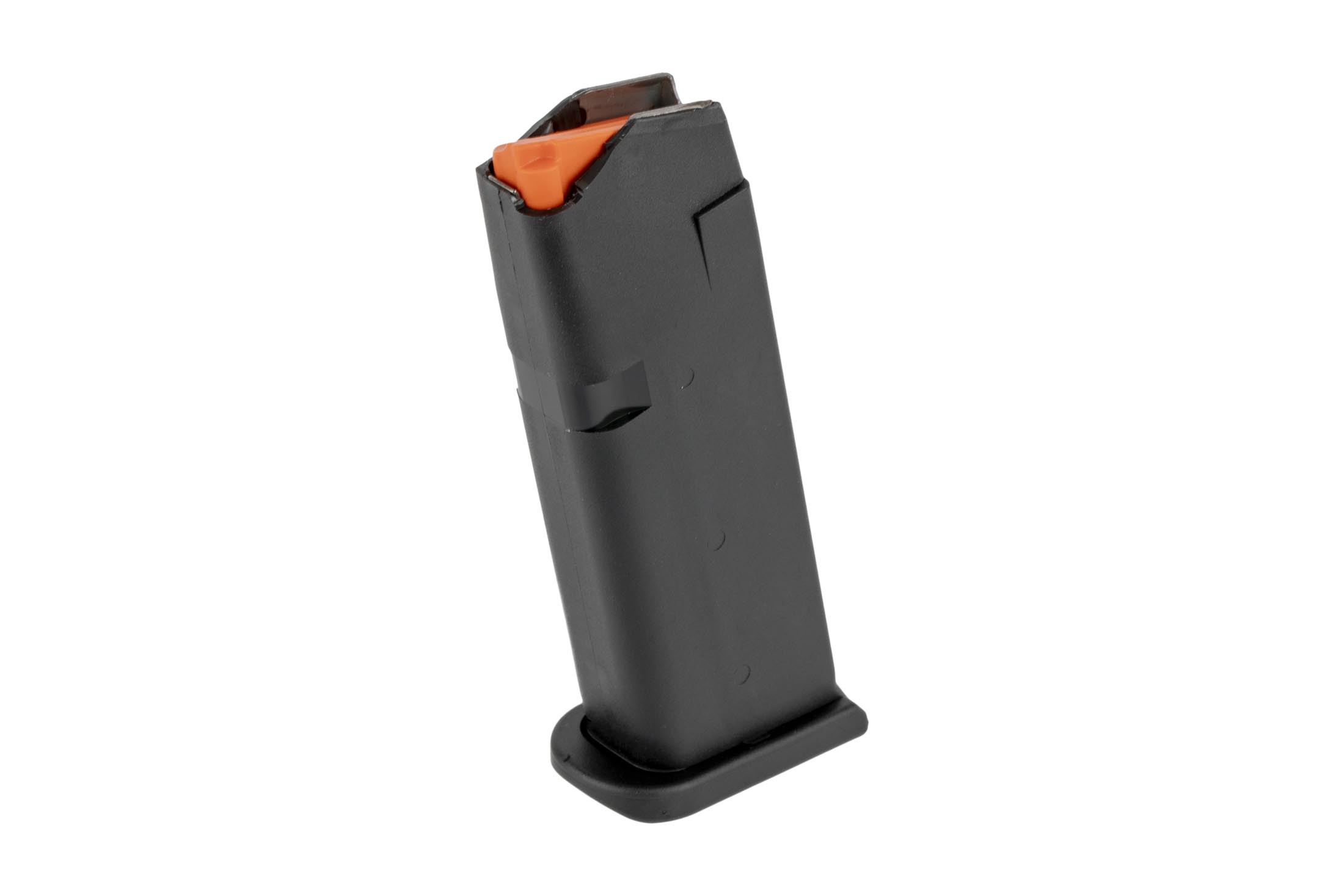 Glock's G43x and G48 magazines are steel-reinforced OEM magazines for your handguns that hold 10-rounds of 9mm ammo.
