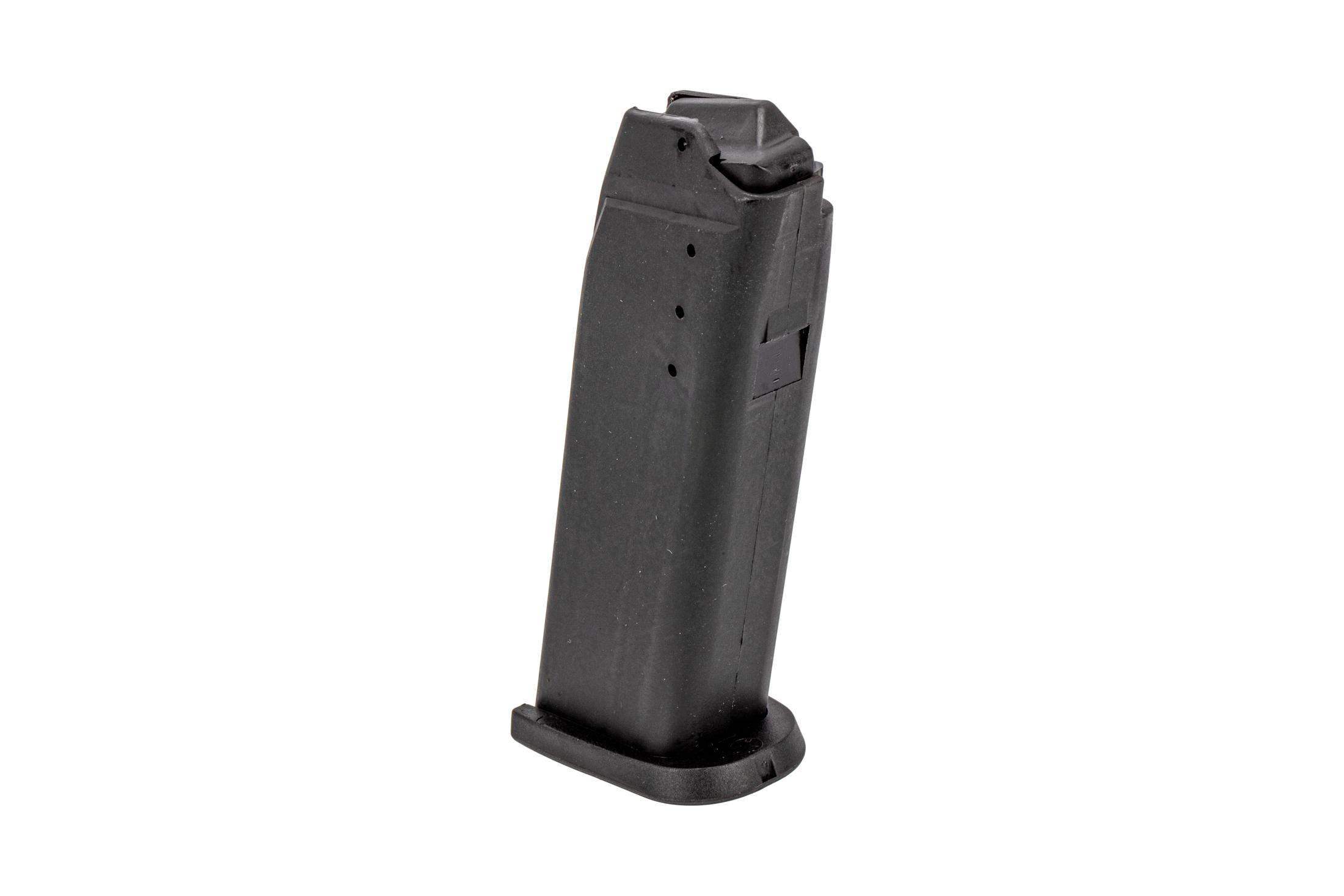 The Heckler and Koch VP9SK magazine is made from stainless steel and holds 15 rounds of 9mm ammo